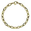 Offord & Sons | 9ct yellow gold Echo link bracelet | GECHC07