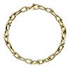 Offord & Sons | 9ct yellow gold Echo link bracelet | GECHE07