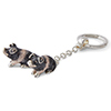 Offord & Sons | Saturno Silver Saddleback Pigs Key Ring