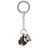 Offord & Sons | Saturno Silver Hanging Panda Key Ring