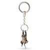 Offord & Sons | Saturno Silver Tabby Cat Key Ring