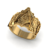 Offord & Sons | Masonic square and compass ring