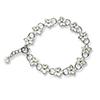 Offord & Sons | Nicole Barr enamelled Stephanotis bracelet