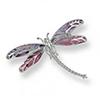 Offord & Sons | Nicole Barr silver & enamel Dragonfly brooch