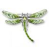 Offordandsons | Nicole Barr silver enamelled Dragonfly brooch