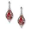 Offord & Sons | Nicole Barr silver & enamel Ornament earrings