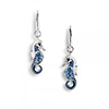 Offord & Sons | Nicole Barr silver & enamel Seahorse earrings