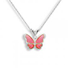 Offord & Sons | Nicole Barr silver & enamel Butterfly Necklace