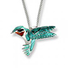 Offord & Sons | Nicole Barr silver & enamel Hummingbird Necklace