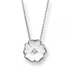 Offord & Sons | Nicole Barr silver & enamel Rose Necklace