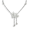 Nicole Barr Stephanotis necklace