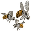 Offord & Sons | Saturno silver enamelled Bees