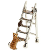 Offord & Sons | Saturno enamelled Cat on Ladder