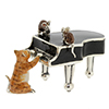 Saturno piano with cat and mice