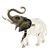 Offord & Sons | Saturno silver and enamelled Elephant