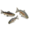 Offord & Sons | Saturno silver and enamelled Trout Fish