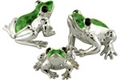 Offord & Sons | Saturno silver and enamelled Frogs