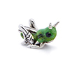 Offord & Sons | Saturno Silver enamelled Grasshopper