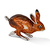 Offord & Sons | Saturno Silver Enamelled Large Hare