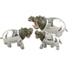 Offord & Sons | Saturno silver enamelled Hippopotamus