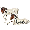 Offord & Sons   Saturno silver enamelled Horses