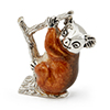 Offord & Sons | Saturno Silver Enamelled Koala on a branch