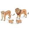 Offord & Sons   Saturno silver enamelled Lions