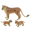 Offord & Sons | Saturno silver enamelled Lions