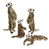 Offord & Sons | Saturno silver and enamelled Meerkats