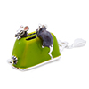 Offord & Sons | Saturno Silver Enamelled Mice on Toaster