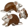 Offord & Sons | Saturno enamelled Mouse / MIce
