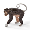 Offord & Sons | Saturno Silver Enamelled Large Monkey