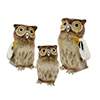 Offord & Sons | Saturno silver enamelled Owls