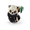 Offord & Sons | Saturno Silver Enamelled Panda