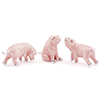 Offord & Sons | Saturno Silver Enamelled Pigs