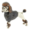 Offord & Sons | Saturno silver enamelled Poodle
