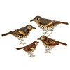Offord & Sons | Saturno silver and enamelled Thrush birds