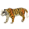 Offord & Sons | Saturno silver and enamelled large Tiger