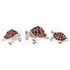 Offord & Sons   Saturno silver enamelled Tortoises