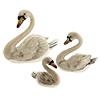 Saturno enamelled Swans