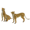 Offord & Sons | Saturno enamelled Cheetahs