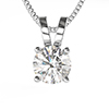Offord & Sons | Diamond Single Stone Pendant & Chain