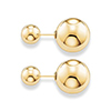 Offord & Sons | Thomas Sabo silver & gold plated double stud earrings